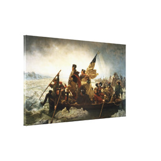 Washington Crossing the Delaware by Emanuel Leutze Canvas Print