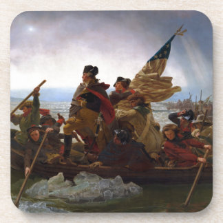 Washington Crossing the Delaware by Emanuel Leutze Coaster