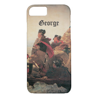 Washington Crossing the Delaware by Emanuel Leutze iPhone 8/7 Case