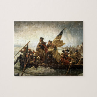 Washington Crossing the Delaware - Leutze (1851) Jigsaw Puzzle