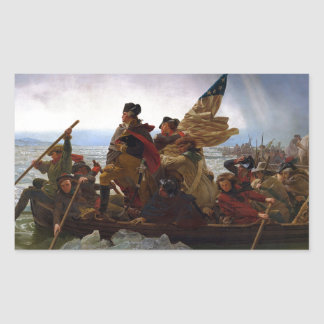 Washington Crossing the Delaware Sticker