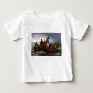 Washington Crossing the Delaware - US Vintage Art Baby T-Shirt
