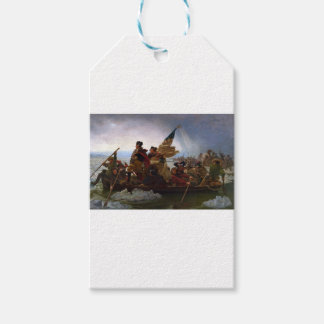 Washington Crossing the Delaware - US Vintage Art Gift Tags