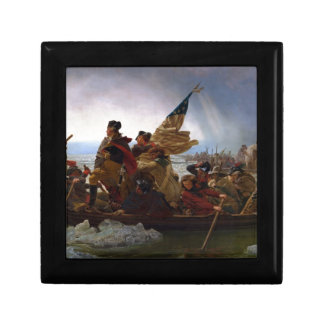 Washington Crossing the Delaware - US Vintage Art Jewelry Boxes