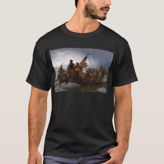 Washington Crossing the Delaware - US Vintage Art T-Shirt