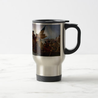 Washington Crossing the Delaware - US Vintage Art Travel Mug