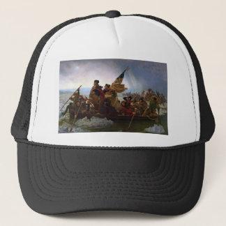 Washington Crossing the Delaware - US Vintage Art Trucker Hat