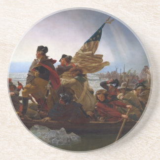 Washington Crossing the Delaware - Vintage US Art Coaster