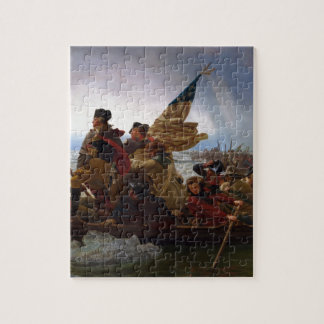 Washington Crossing the Delaware - Vintage US Art Jigsaw Puzzle