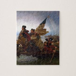 Washington Crossing the Delaware - Vintage US Art Puzzle