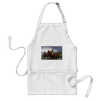 Washington Crossing the Delaware - Vintage US Art Standard Apron