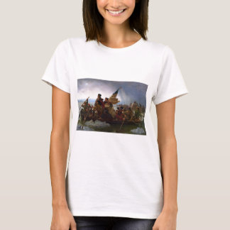 Washington Crossing the Delaware - Vintage US Art T-Shirt