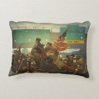 Washington Crossing the Universe Pillow
