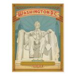 Washington, D.C. - Abe Lincoln Postcard