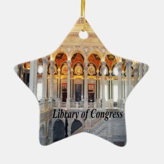 Washington D.C. Ceramic Star Ornament
