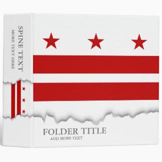 Washington D.C. flag Binders