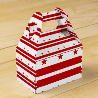 Washington, D.C Flag Favor Box