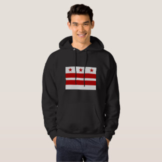 Washington, D.C Flag Hoodie