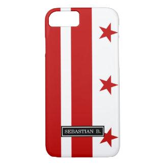 Washington D.C. flag iPhone 7 Case