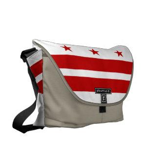 Washington D.C. flag Messenger Bags
