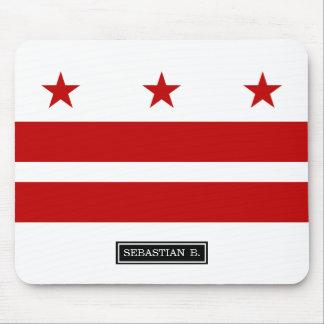 Washington D.C. flag Mouse Pad