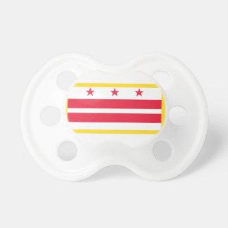 Washington, D.C. Flag Pacifier