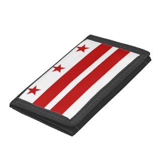 Washington, D.C Flag Trifold Wallet