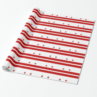 Washington, D.C Flag Wrapping Paper