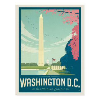 Washington, D.C. - Our Nation's Capital Postcard