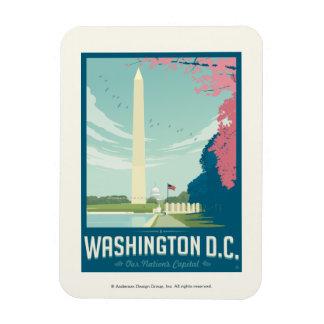 Washington, D.C. - Our Nation's Capital Rectangular Photo Magnet