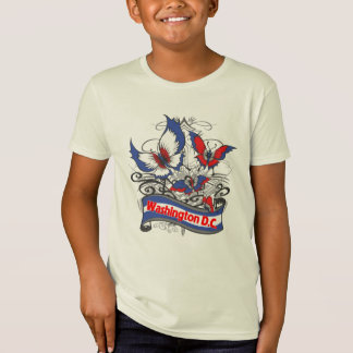 Washington D.C. Patriotism Butterfly T-Shirt