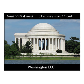 Washington D.C. - postcard