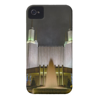 Washington D.C. Temple at Night Case-Mate iPhone 4 Cases