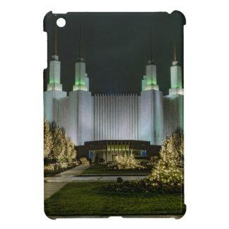 Washington D.C. Temple at Night Cover For The iPad Mini