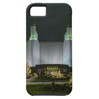 Washington D.C. Temple at Night iPhone 5 Case