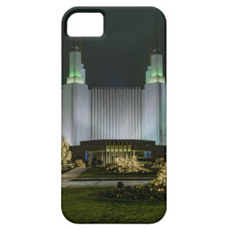Washington D.C. Temple at Night iPhone 5 Cases