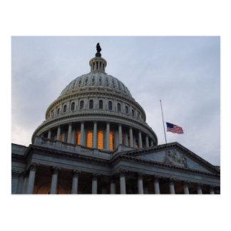 Washington D.C. US Capitol Building Postcard