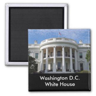Washington D.C. White House Square Magnet