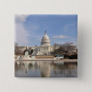 Washington DC 2 Inch Square Button