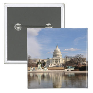 Washington DC 2 Inch Square Button