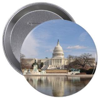 Washington DC 4 Inch Round Button