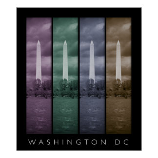Washington DC - 4 Panel Poster