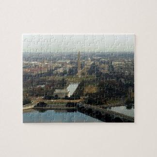 Washington DC Aerial Photograph Puzzles