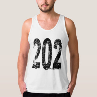 Washington DC Area Code 202 Tank Top