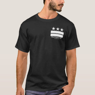 Washington DC Capital City Black T-shirt