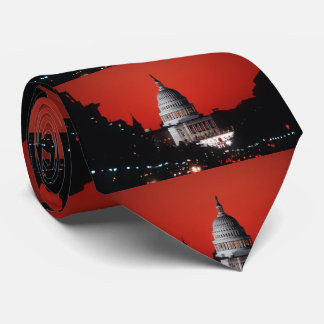Washington DC Capitol Building Tie