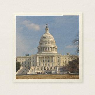 Washington DC Capitol Hill Building Disposable Napkins
