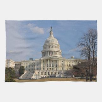 Washington DC Capitol Hill Building Hand Towel