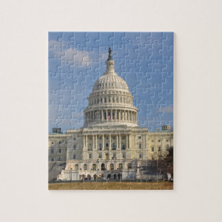 Washington DC Capitol Hill Building Jigsaw Puzzle