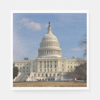 Washington DC Capitol Hill Building Paper Napkins